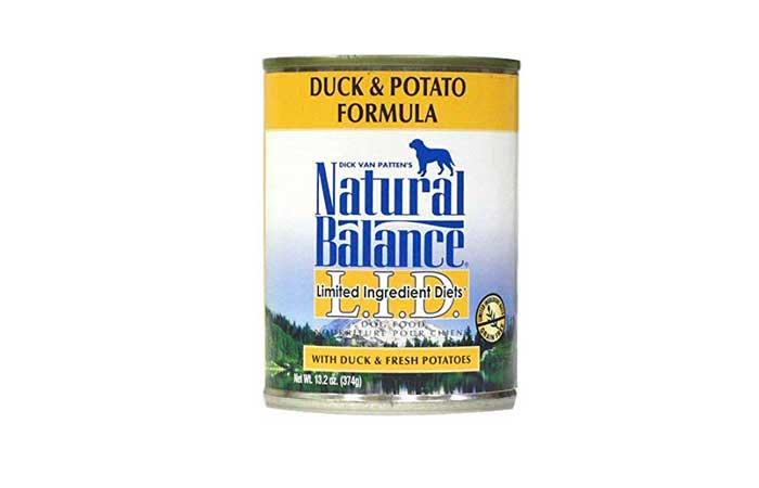ナチュラルバランス ダック&ポテト(缶詰)